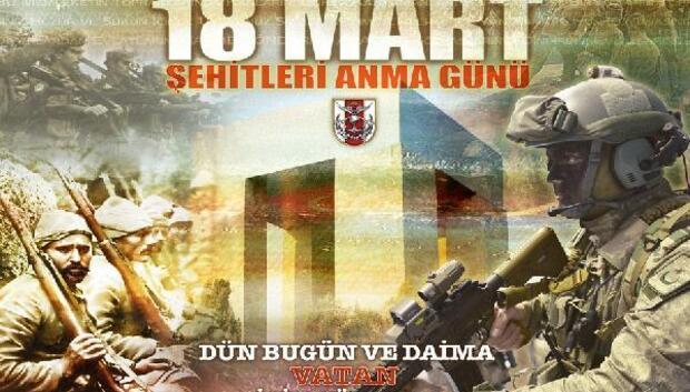 TSKnın 18 Mart Şehitler Günü afişleri