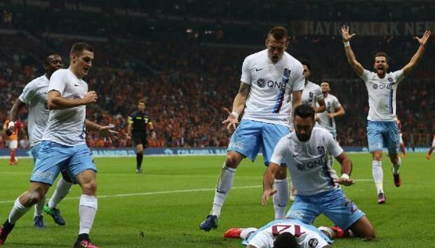 Trabzonspor zorlu Galatasaray karşısında