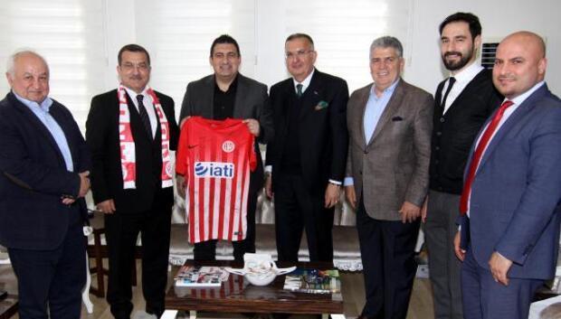 Antalyaspordan Uzunkayaya ziyaret