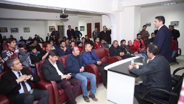 Başkan Eroğlu, taraftarlarla buluştu