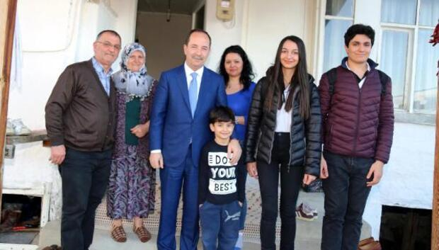 Gürkan, şehit ailesini ziyaret etti