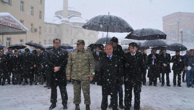 Yüksekovada 18 Mart Çanakkale Şehitleri Anma töreni