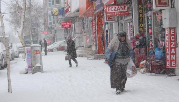 Mart karı 30 köy yolunu kapattı (2)