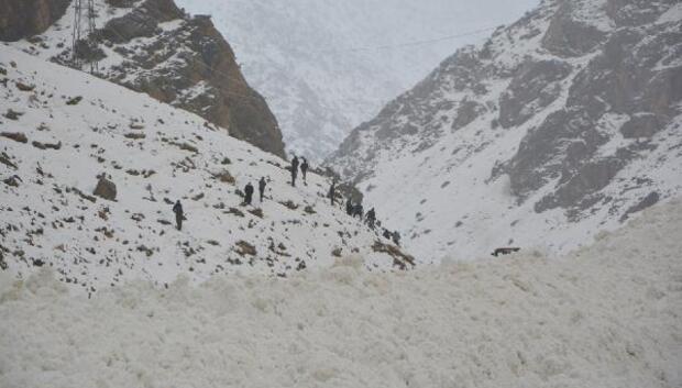 Çatak-Van karayolu çığ düşmesi sonucu ulaşıma kapandı