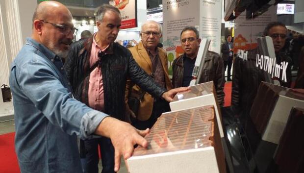 MERYAP üyeleri, Milano Yapı Fuarı'nda