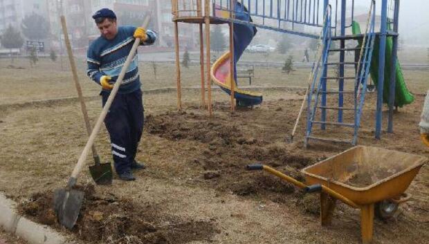 Edirne Belediyesi, parklar yenileniyor