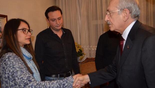 Kılıçdaroğlundan Tayfun Talipoğlunun evine taziye ziyareti /FOTOĞRAFLAR