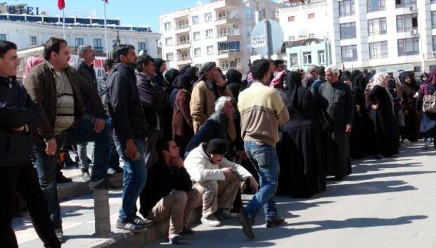 Kiliste Suriyelilerin Kızılaykart yoğunluğu