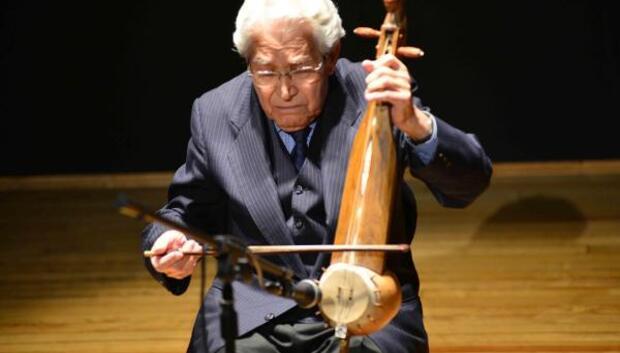 Geleneksel Türk çalgılarıyla konser verdiler