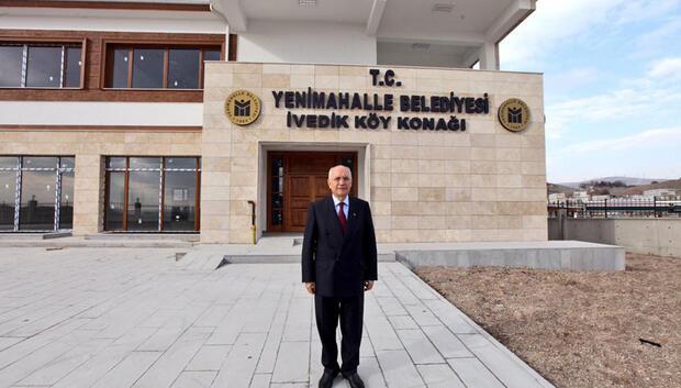 İvedik'e köy konağı