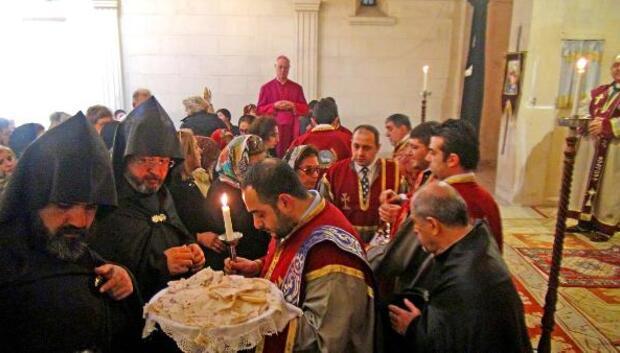 Ermenilerin 145inci İsim Günü ayini