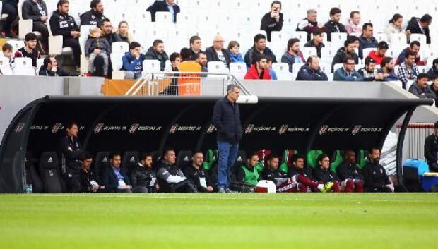 Beşiktaş hazırlık maçında mağlup