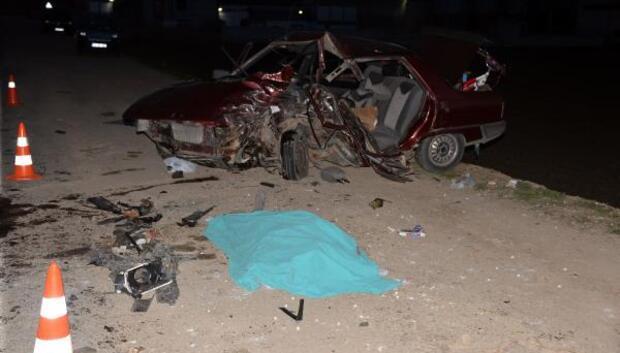 Kahramanmaraşta kaza: 4 ölü (1)