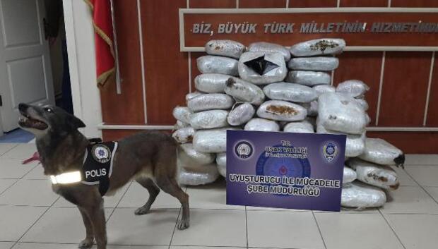 210 kilo 580 gram esrara 5 tutuklama