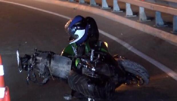 Zeytinburnunda motosiklet kazası: 1 ölü,1 yaralı
