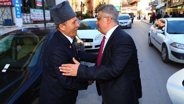 Vali Aykut Pekmez, Gazileri ziyaret etti