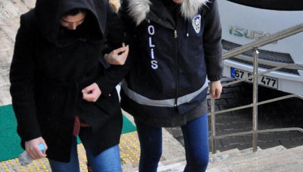 Zonguldak'ta FETÖ'den 14 kişi adliyede