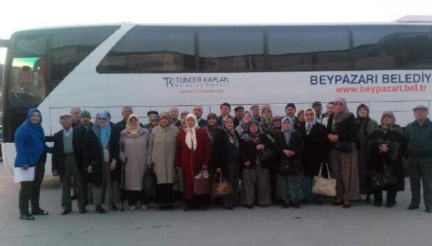 Beypazarında yaşlılara gezi programı