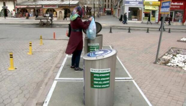 Sivasta akıllı çöp konteyneri uygulaması