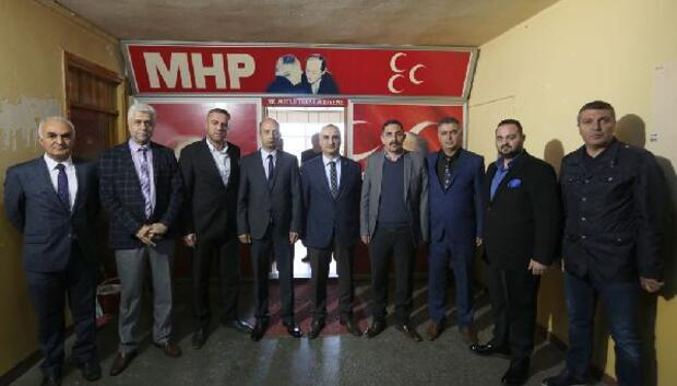Başkan Aydından MHP ziyareti