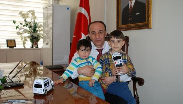 Şehit ailesinden valiye ziyaret