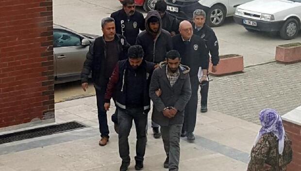 Elektronik eşya hırsızları tutuklandı