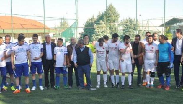 Muhasebeciler Futbol Turnuvası başladı