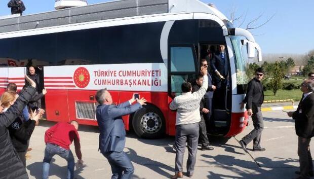 Erdoğan: Kılıçdaroğlunun kendisi Alevi, siyasi partinin başında, neyi eksik