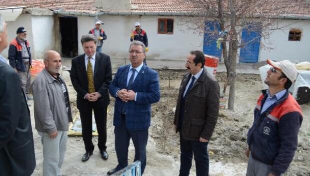 Karatay Belediyesi, Yaylacı ailesinin yanan evini yeniden yaptı