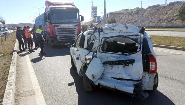 Sivasta kaza: 2 yaralı