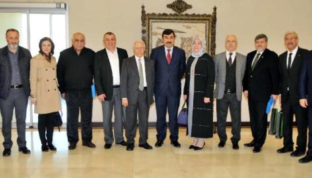 Gaziantep ve Kocaelili sanayiciler buluştu