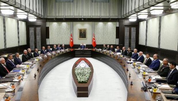 Milli Güvenlik Kurulu Toplantısı başladı