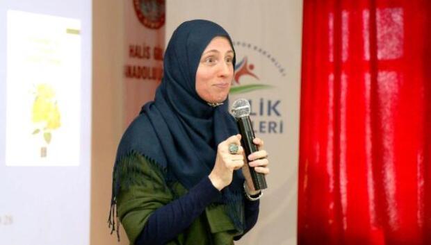 Yazar Najla Tammy Kepler öğrencilerle buluştu