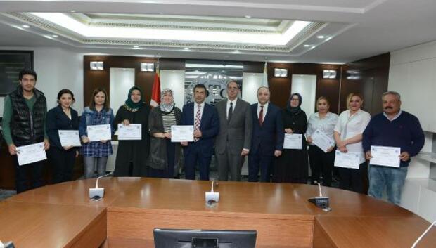 DTOda girişimcilere sertifika