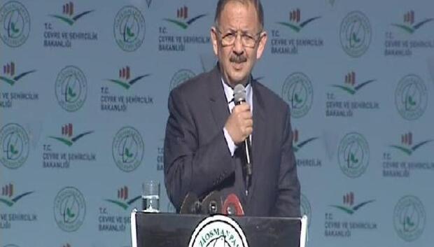 Bakan Özhaseki: Teröristlerin yıktığı masum vatandaşların evlerini tek tek teslim edeceğiz