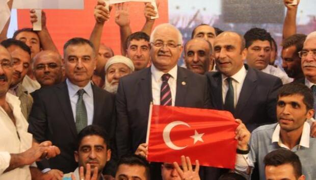 Ak Partili Erdoğandan esnafa ziyaret