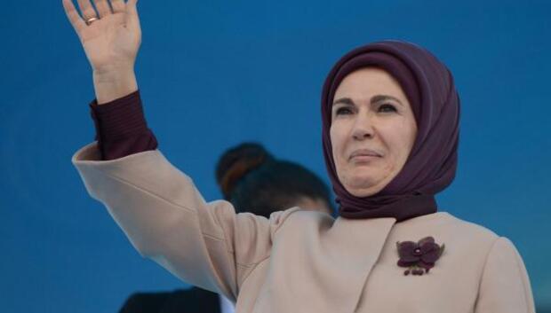 Emine Erdoğan yarın İzmirde