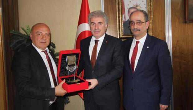 Türk Kızılayı Bayburt Şubesi'nden Başkan Memiş'e ziyaret