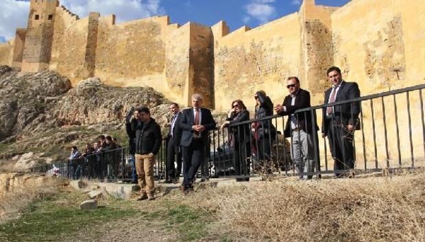 Kültür Varlıkları ve Müzeler Genel Müdürlüğü heyeti Bayburt'ta