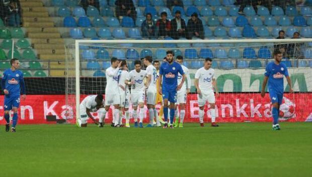 Çaykur Rizespor - Kasımpaşa: 2-2 (Ziraat Türkiye Kupası)