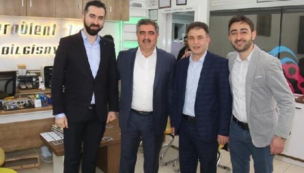 Başkan Özdemir kurum ve esnaf ziyaretlerinde bulundu
