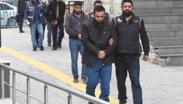 DAEŞ şüphelisi 4 Suriyeli adliyeye sevk edildi