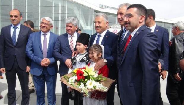 Bakan Arslan, Karsta Lojistik Merkezi'nin temelini attı
