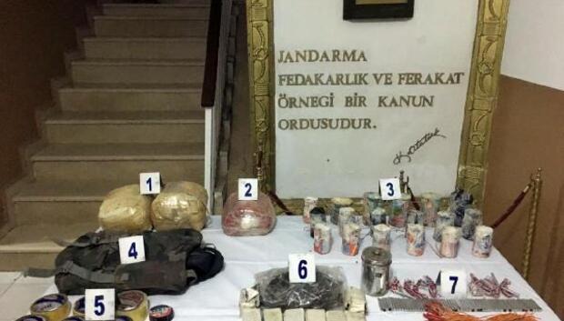 Şırnakta terör örgütü PKKnın bombaları bulundu
