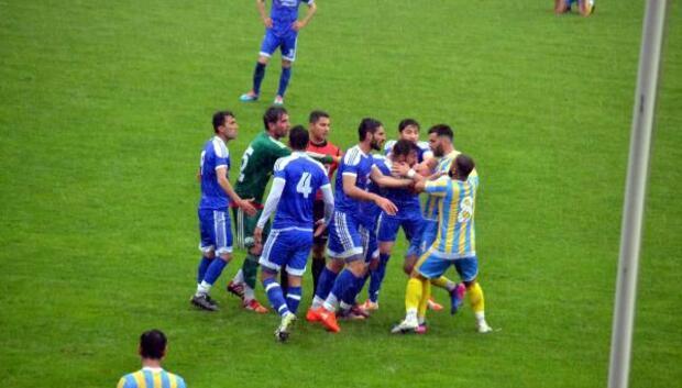 Siirtte BAL ligi Şampiyonluk maçında olaylar çıktı