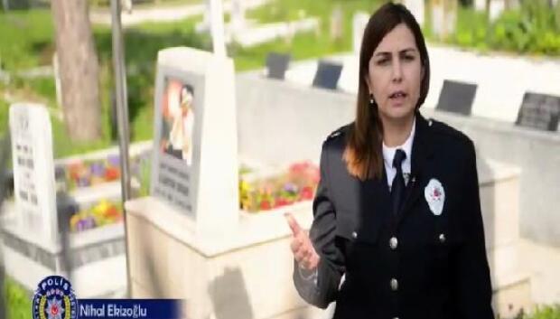 Polislerden duygulandıran video