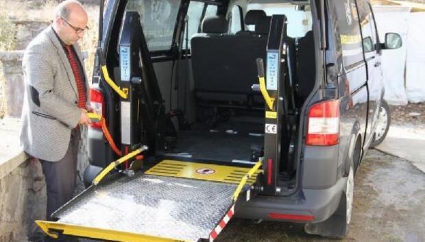 Belediyeden engellilere özel hizmet