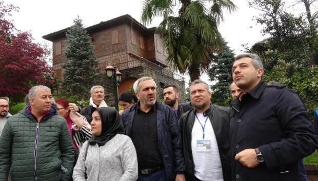 80 ilden gelen yerel gazeteciler Cumhurbaşkanı Erdoğanın evini ziyaret etti