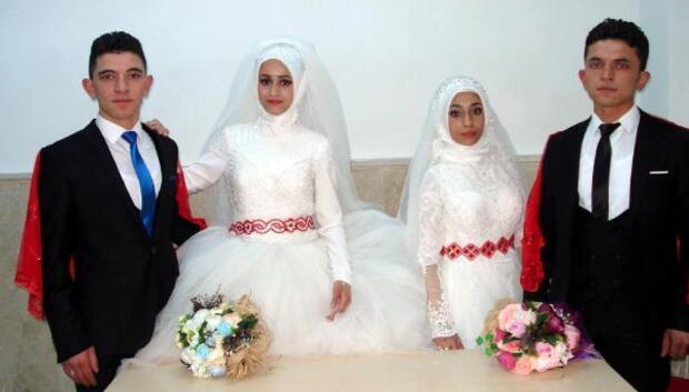 Suriyeli kız kardeşler, Sivaslı kardeşlerle evlendi