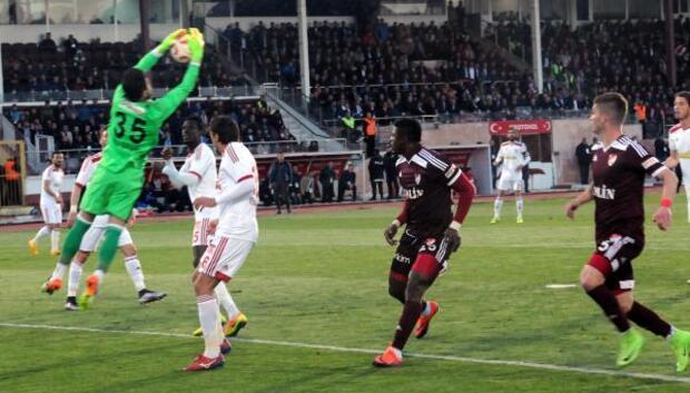 Elazığspor - Sivasspor: 1-1